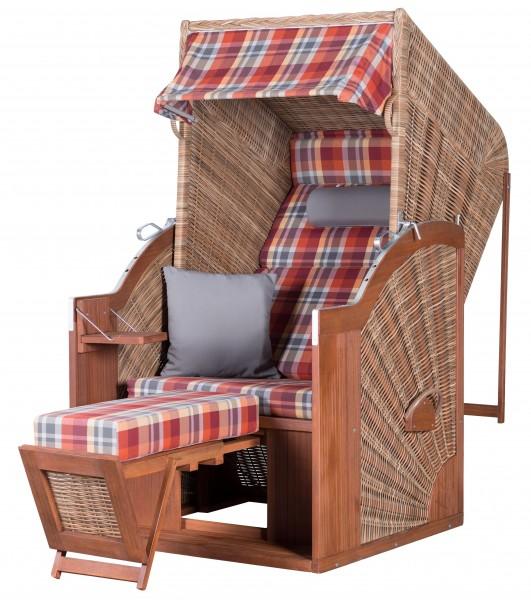 Strandkorb TRENDY PURE Comfort Single XL PE griseum Dessin 429