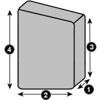 Schutzhaube mit 2 unterschiedlichen Höhen