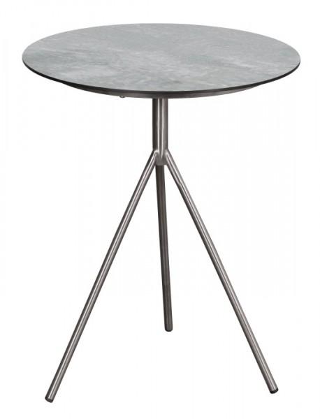 Tisch Willington Edelstahl HPL rund ø 48cm deVries