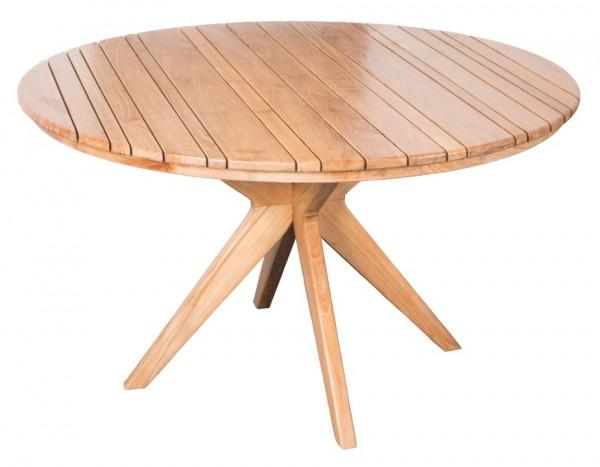 Tisch Robusta Teak ø 130cm deVries