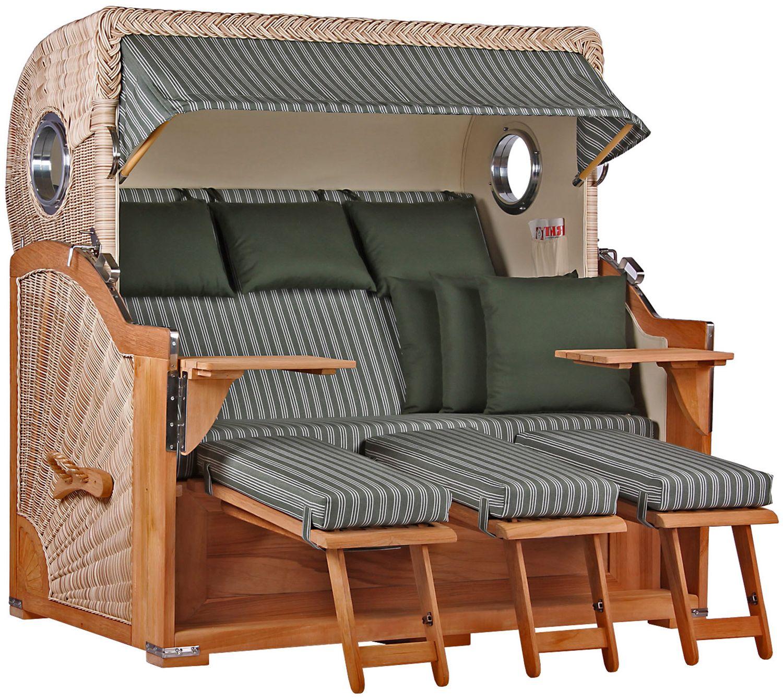 dreisitzer xxl strandk rbe bullaugen wechselpolster 3 personen. Black Bedroom Furniture Sets. Home Design Ideas