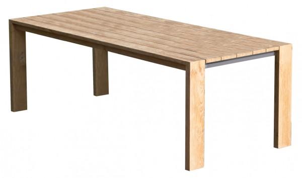 Tisch Blackpool 220x100 cm Teak deVries