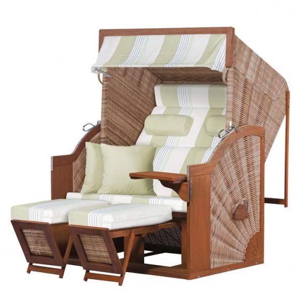 Strandkorb deVries PURE® Comfort XL PE griseum Dessin 432